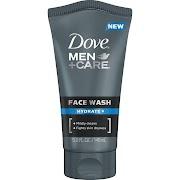 Dove Men +Care Face Wash, Hydrate - 5 oz tube