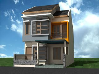 Desain rumah 2 lantai minimalis  My Favorite Decoration
