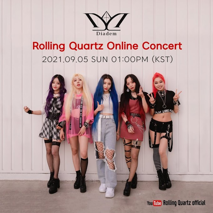 Rolling Quartz Have a Free Online Concert to Celebrate Their New Fandom Logo
