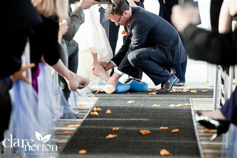 Navy and Orange Waterfront WeddingTruly Engaging Wedding Blog