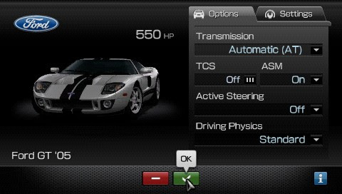 Screenshot of Gran Turismo (PSP)