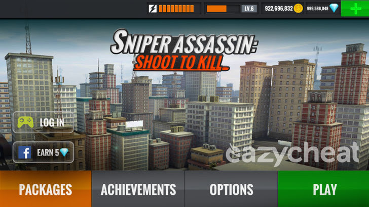 Sniper 3D Assassin: Free Games v1.11 Cheats
