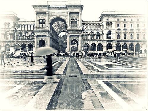La Piazza in bianco&nero by Ev@ ;-)