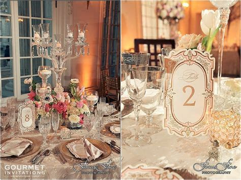 Victorian Wedding Reception   Gourmet Invitations