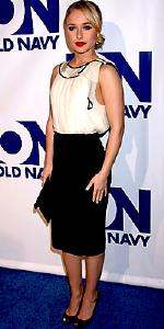 Hayden Panettiere wearing Nu Collective