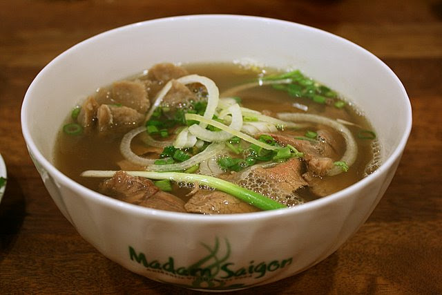 Special beef noodle soup