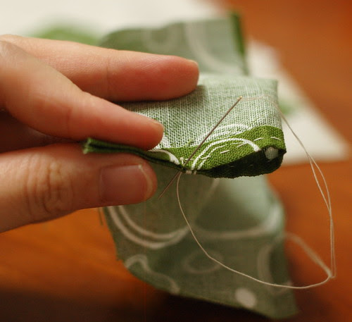 How to make a petit pouch 9