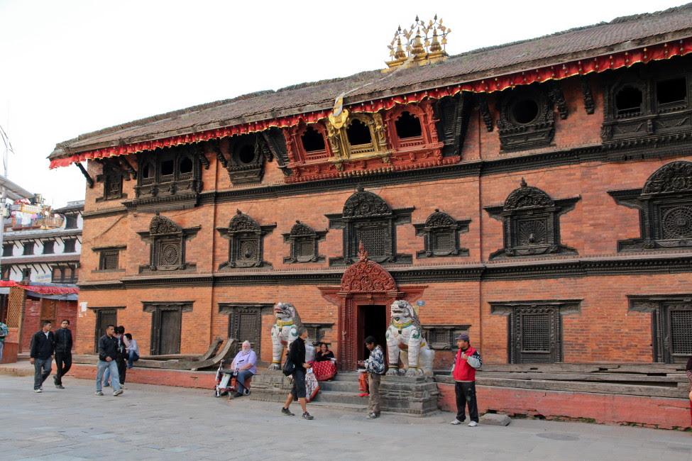 Resultado de imagen de kathmandu  palacio de Kumari ghar
