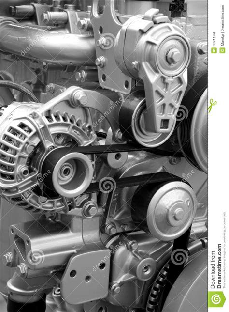 Engine Parts And Components Stock Images - Image: 3321144
