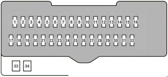 Lexus Rx 350 2007 2009 Fuse Box Diagram Auto Genius