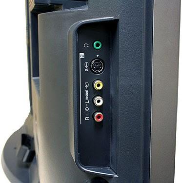 Sony Bravia KLV-40V300A (40-inch LCD Display Panel) - Side Jacks