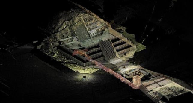 Mexico Teotihuacan mercury