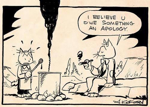 Laugh-Out-Loud Cats #2091 by Ape Lad