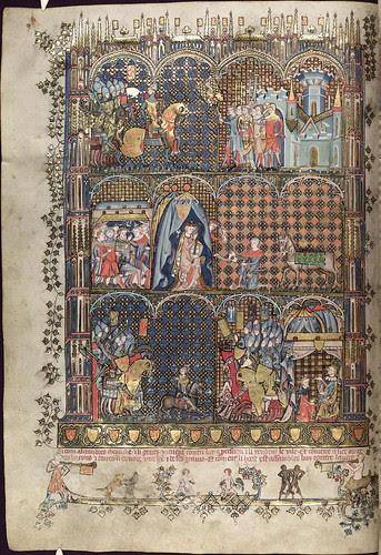 The Romance of Alexander 43v MS. Bodl. 264