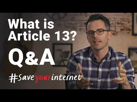 Principais perguntas sobre o Artigo 13 V3 –