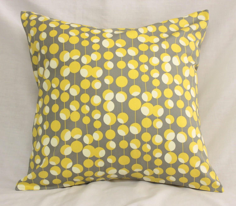 Decorative Pillow Covers Dijon Mustard Yellow & by SewGracious