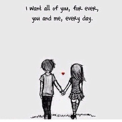 Czeshop Images I Just Want You Forever Quotes