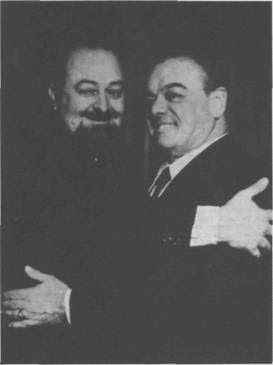 Francisco Canaro con Homero Manzi