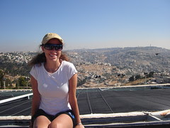 Myself in front of Jerusalem