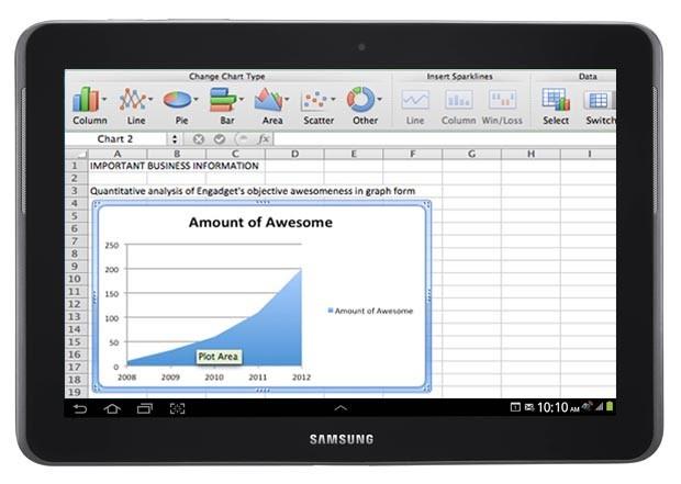 Samsung vai pré-instalar Office em tablets