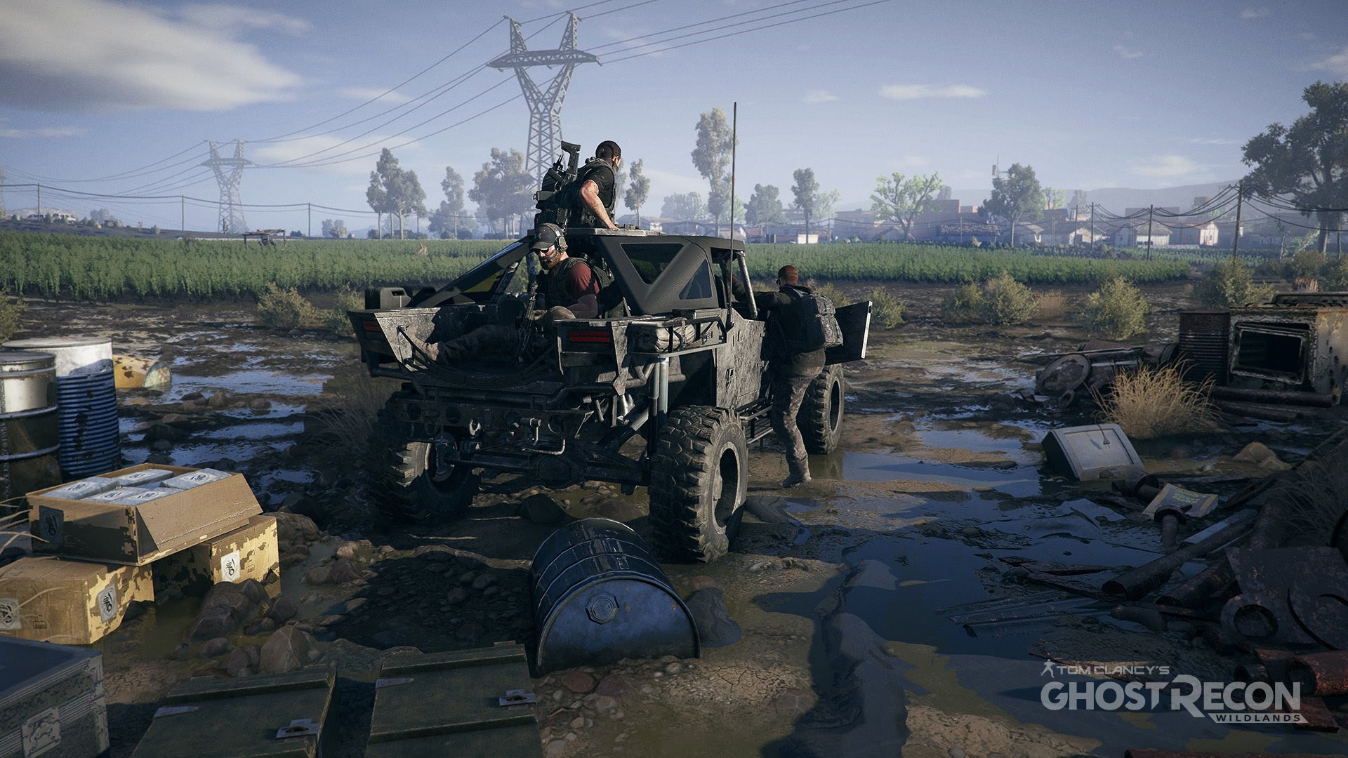 You can pre-load this week's Ghost Recon Wildlands open beta screenshot