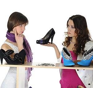 Women Buying Shoes