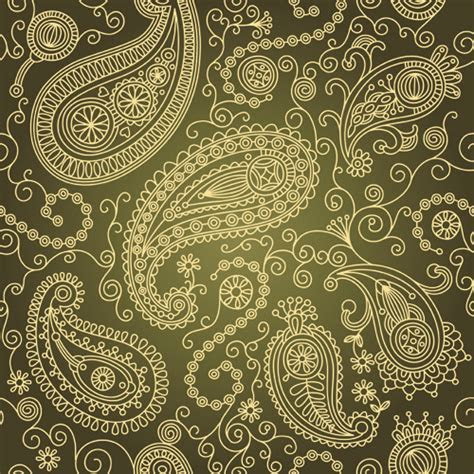 Paisley pattern free vector download (18,811 Free vector