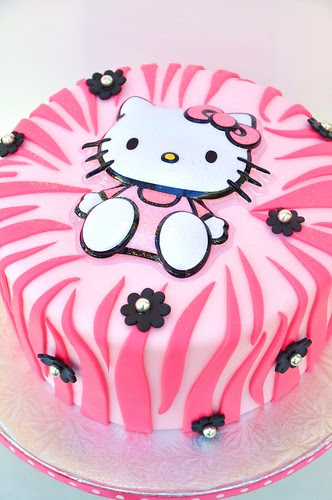 Hello Kitty Pink Zebra
