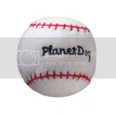 Plush Baseball