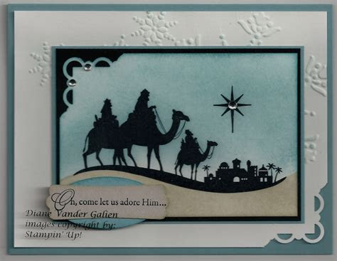 Come to Bethlehem Stamp Set  Christmas cards 2011