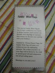Family Flag Packaging Back