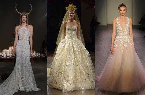 Designer wedding gowns: The best Fall/Winter 2016