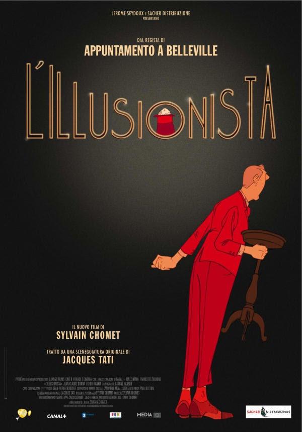 Risultati immagini per l'illusionista 2010 poster