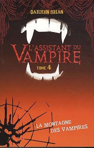 L'assistant du vampire - Tome 4 - La montagne des vampires
