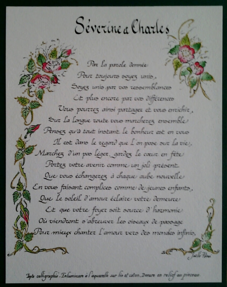 Poeme Amour Anniversaire Mariage