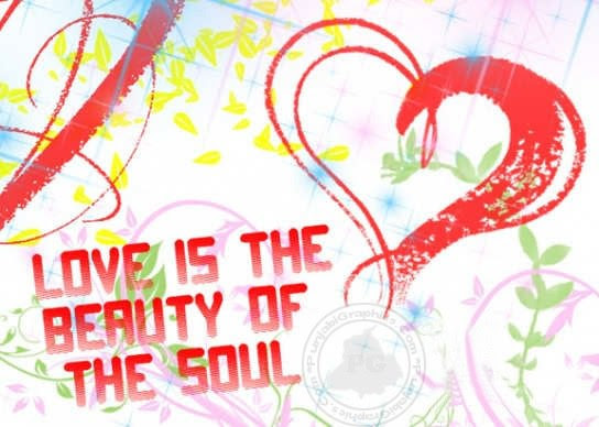 Love Is The Beauty Of The Soul Quotespicturescom