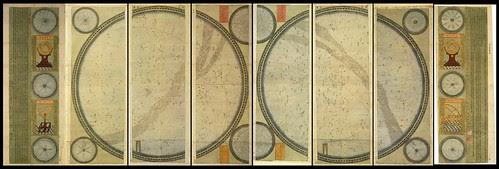 Schall 8-part cosmological map - 1634