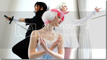 princess tutu / swan lake cosplay - arima ahiru, duck, fakir, mytho, siegfried