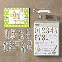 Number of Years Photopolymer Bundle by Stampin' Up!