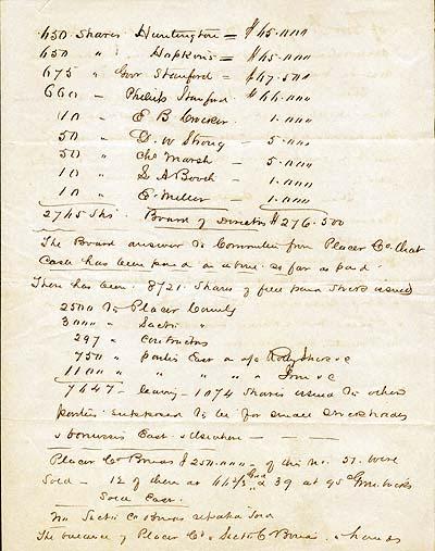 CPRR Minutes c. 1862.