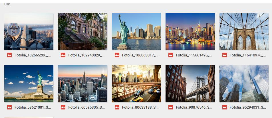 Foto-foto Keindahan Bangunan dan Jalanan Kota New York