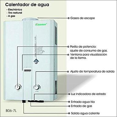 Productos para el hogar por marca calentadores de agua a - Precios de calentadores de agua ...