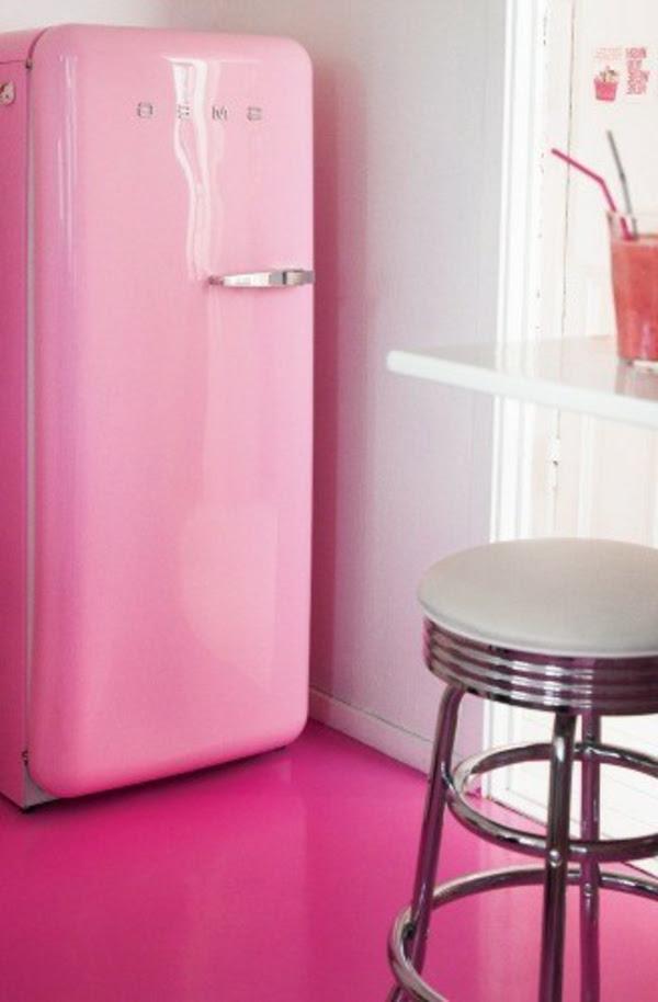 Kühlschrank Rosa Smeg - Marty
