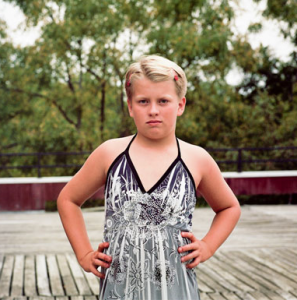 "Slate magazine features a sympathetic photo-story about a ""gender non-conforming camp for boys"" like this one, who are encouraged by adults to wear dresses like girls. The liberal media are now in the process of mainstreaming extreme gender confusion."