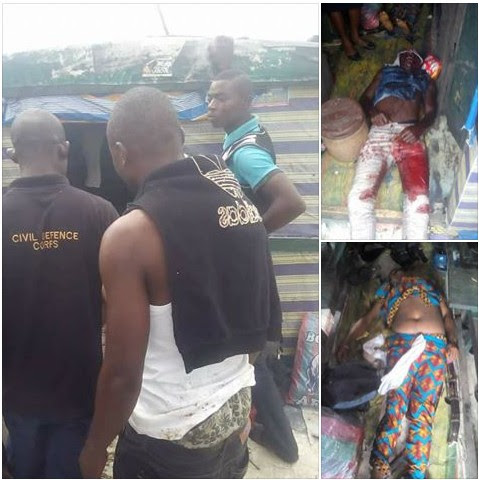 Escorts & Lady Killed As Sea Pirates Attack Oil Vessel In Bayelsa (Graphic Pics)