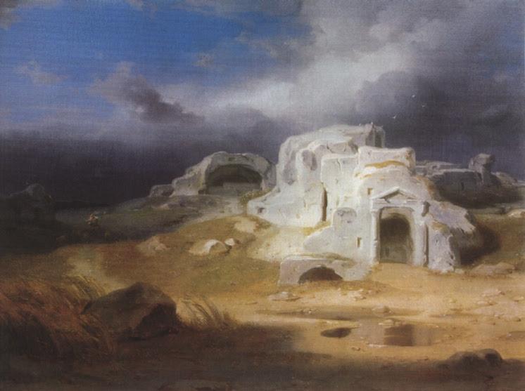 Carl Rottmann, Griechische Grabstätte