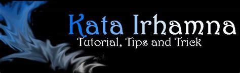 kata irhamna tutorial blog