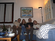 Rovereto: Helena, Gabriele, Eva i jo.