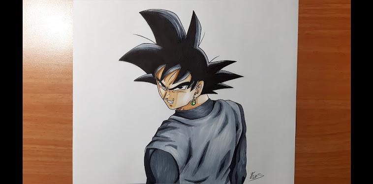 Dragon Ball Super Goku Black Drawing