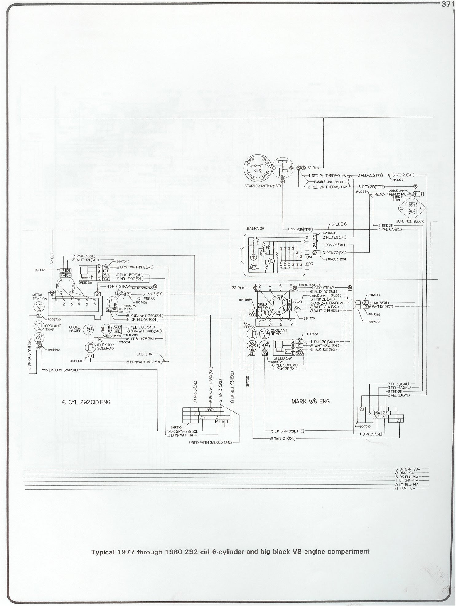Under hood Wiring Schematic for 1978 Cheny Blazer | Chevy ...